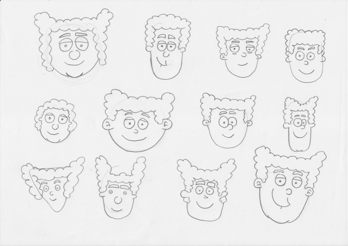 Jimmy Pea face Designs