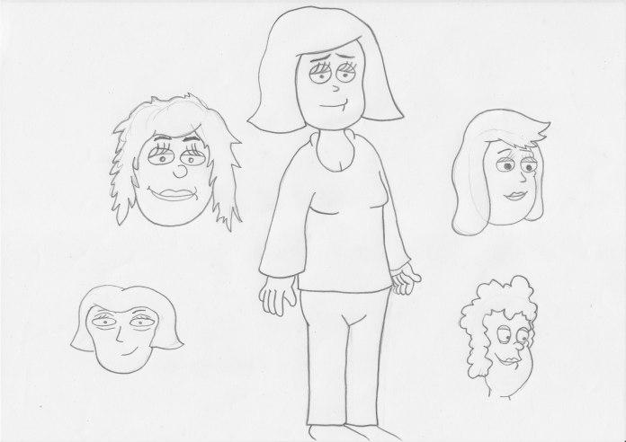Mum Character Designs